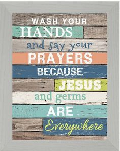 Wash your hands and Say Your Prayers Bathroom by SummerSnow0123