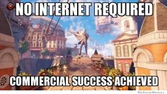 you need good internet if games are going to require it...