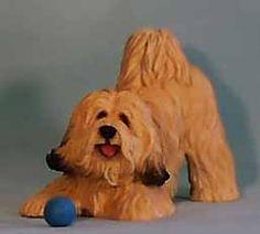 Tibetan Terrier figurine