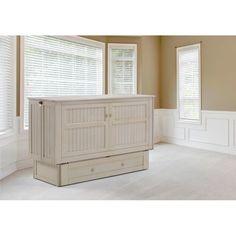 Rosecliff Heights Cossette Queen Storage Murphy Bed with Mattress | Wayfair
