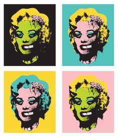 Marilyn Monroe/Zombie