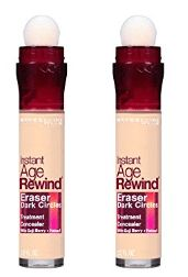 Maybelline Instant Age Rewind Eraser Dark Circles Treatment Concealer, Light, 2 Count -- Find out more about the great product at the image link. (This is an affiliate link) Best Under Eye Concealer, Best Concealer, Maybelline Instant Age Rewind, Dark Circles Treatment, Makeup Tips, Skin Care, Bottle, Count, Image Link