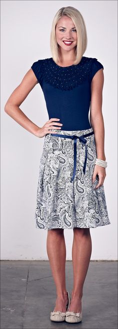 $24.99 size: Large only (maybe could take in a little? really like it!) Paisley Skirt