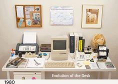 Evolution Of The Desk. - 9GAG