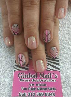 Nail Desings, Veronica, Diana, Manicure, Beauty, Pretty Nails, Nail Decorations, Nail Designs, Nail Bar