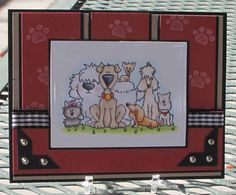 this is a great dog card!