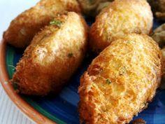 Receita Aperitivo : Peixinhos da horta e pastéis de bacalhau de SaboresdaAlma