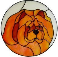 stained glass chow - Google Search