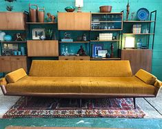 Check out our mid century modern selection for the very best in unique or custom, handmade pieces from our sofas & loveseats shops. Mid Century, Home And Living, Love Seat, Furniture, Home, Modern, Home Decor, Living Room Furniture, Room