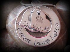 Furever in my Heart Loss of Pet by littleangelsboutique on Etsy, $23.00
