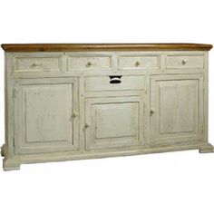 Provence French Shabby Chic Furniture 2 Door Sideboard