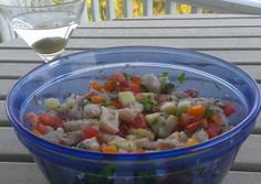 Ceviche - Tilapia Recipe -  Very Delicious. You must try this recipe!