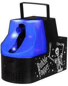 Black Light Bubble Fogger Machine. the bubbles have fog inside them! so much fun!