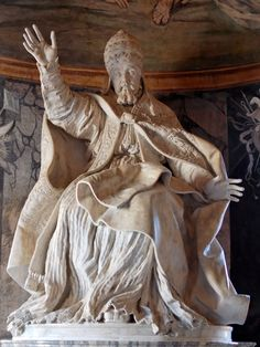 Gianlorenzo Bernini, Portrait of Pope Urban VIII- the lace at the bottom is what gets me