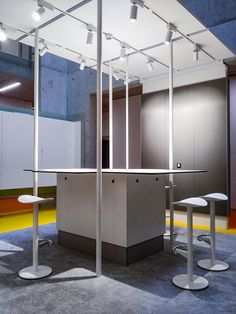 Creative Corner at IMBA - Institute of Molecular Biotechnology in Vienna, realised sept. Biotechnology, Office, Studio, Vienna, Divider, Corner, Interior Design, Creative, Room