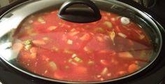 Recette: Soupe aux légumes à la mijoteuse. Slow Cooker Recipes, Soup Recipes, Healthy Recipes, Fodmap, Crockpot, Meal Prep, Salsa, Food And Drink, Nutrition
