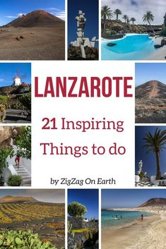Lanzarote Canary Islands Travel - 21+ amazing things to do in Lanzarote - volcanoes, beaches, fun activities, unique architecture... Plan your trip to Lanzarote | #canaryislands #lanzarote | Lanzarote photography