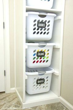Image result for integrated laundry bins uk