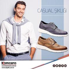 Casual tarzı benimseyenler için birbirinden şık modeller;  www.komcero.com.tr/komcero_casual.html #Komcero #ayakkabı #trend #fashion #moda #AyağınızdakiEnerji