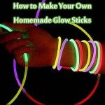 How to Make Your Own Homemade Glow Sticks Homemade Glow Sticks, Make Your Own, Make It Yourself, How To Make, Decorating With Sticks, Cool Glow, Diy And Crafts, Arts And Crafts, Wedding With Kids