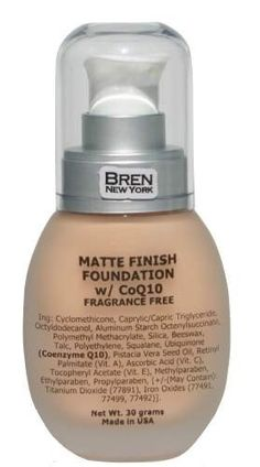 Cosmetics | CoQ10 Foundation Shade Biscuit Face Makeup
