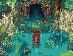 Kynseed on Steam Game Design, Image Pixel Art, Pixel Art Games, Fanart, Photos Du, Artist Art, Art Tutorials, Game Art, Art Inspo