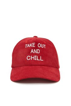 Take Out And Chill Hat