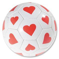 Hearts Soccer Ball
