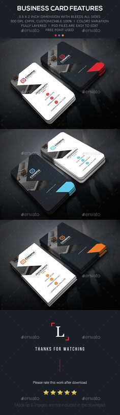 Soft Creative Business Card — Photoshop PSD #flyer #black • Available here → https://graphicriver.net/item/soft-creative-business-card/15397394?ref=pxcr