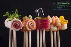 www.trouwenineigentuin.nl Hartige lolly's. www.homemadefood.nl