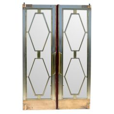 Tourist Class Dining Lounge Doors from S.S. Empress of Britain | From a unique collection of antique and modern doors and gates at http://www.1stdibs.com/furniture/building-garden/doors-gates/