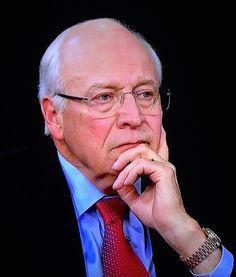 U.S. Vice President Dick Cheney wearing a Rolex President...