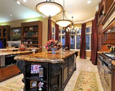 Mediterranean Spaces Medittanean Kitchen Different Island Design, Pictures, Remodel, Decor and Ideas
