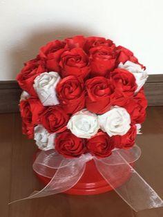 [mixi] ◆折り紙で作る薔薇◆   ♪ローズガーデン♪ その3