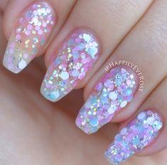 Mermaid nails for summer
