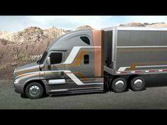 Freightliner Cascadia Evolution Overview http://www.youtube.com/watch?v=fkgqVAGJO7w=youtu.be