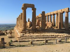 Valley+of+the+Temples+-+The+world's+largest+archaeological+park+feature+seven+preserved+temples,+exhibiting+the+wealth+of+ancient+Greek+architecture+and+art.