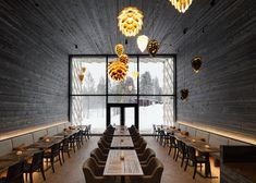Designed by Studio Puisto, the newly opened Arctic Treehouse Hotel is located in Finnish Lapland's Arctic Circle next to Rovaniemi's SantaPark Arctic World. Oak Parquet Flooring, Restaurant Pictures, Treehouse Hotel, Dark Wood Stain, Unique Hotels, 2020 Design, Hotel S, Architect Design, Restaurants