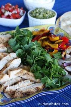 this is a fabulous recipe for fajitas. We recently did this at our family reunion. It was a big hit!