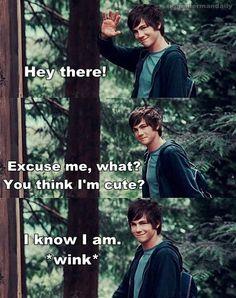 Logan as Percy Jackson! <3