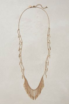 Deergrass Fringe Necklace