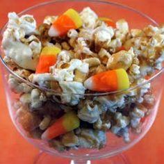 Double Corn Halloween Snack Mix Recipe