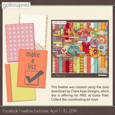 FREE Facebook Freebie Exclusive April 1-10 2014