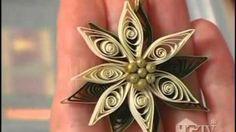 Quilling Sanatı - Kıvrımlı Ve Hoş Çiçek Tasarımı - Makaraya sarma (Quilling…