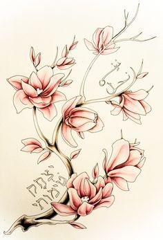 magnolia tattoo - Google Search