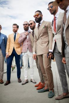 On the streets of Florence at the Pitti Uomo show. [Photo: Kuba Dabrowski]
