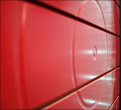 Concentric Ring Slatwall in Red – Fixtures Close Up Slat Wall, Windmill, Retail, Neon Signs, Patterns, Rings, Red, Color, Block Prints