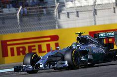 Nico Rosberg, Mercedes, Yas Marina, Friday practice, 2014