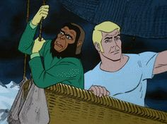 Archives Of The Apes: Return To The Planet Of The Apes: The Animated Series (1975) Part 14
