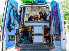 A couple turns a Mercedes Sprinter into a solar-powered home on wheels